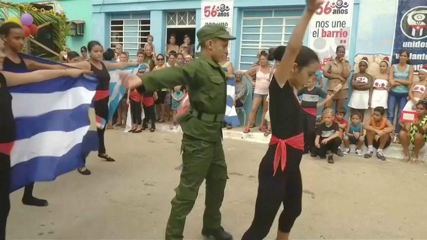 Fidel Castrora emlékeztek