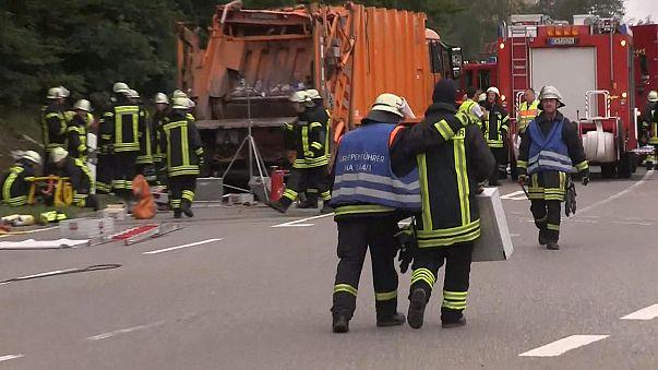 Schock über Müllwagen-Unfall mit 5 Toten: Wie konnte das passieren?