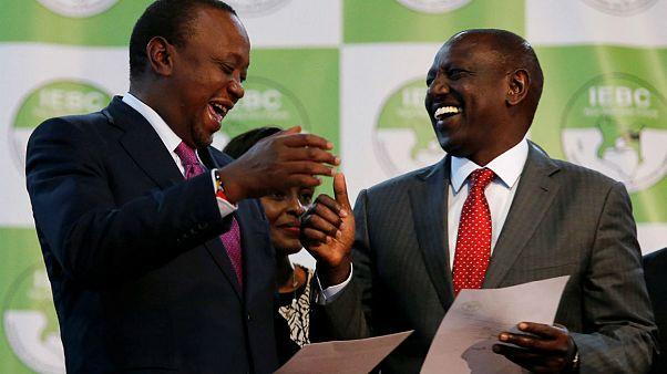 Uhuru Kenyatta re-elected as Kenya's president