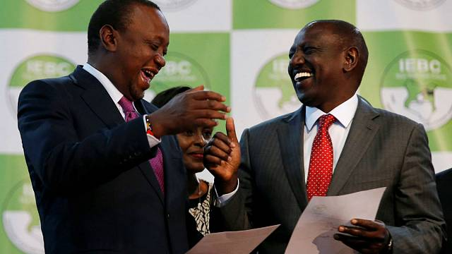 Uhuru Kenyatta, reelegido presidente de Kenia