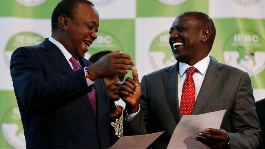 Kenya Devlet Başkanı Uhuru Kenyatta koltuğunu korudu