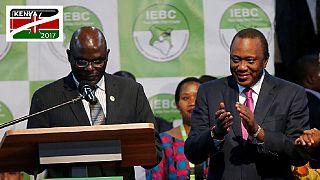 Uhuru Kenyatta declared president-elect of Kenya with 54.27% of votes