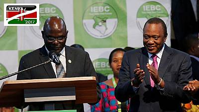 Uhuru Kenyatta declared president-elect of Kenya with 54.27% of votes