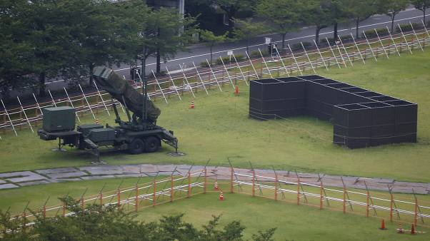 Japan moves its PAC-3 missile to the west of the country