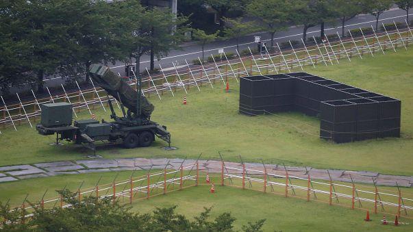 Harckészültség Japánban