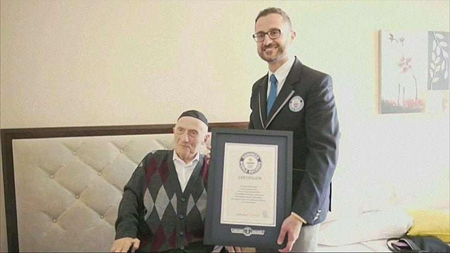 Dünyanın en yaşlı erkeği Israel Kristal hayata veda etti
