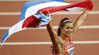 Old timers claim gold at World Athletics Championships