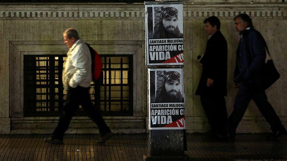 Argentina: thousands protest over missing indigenous activist