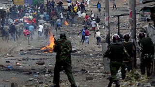 Decenas de muertos tras el resultado electoral