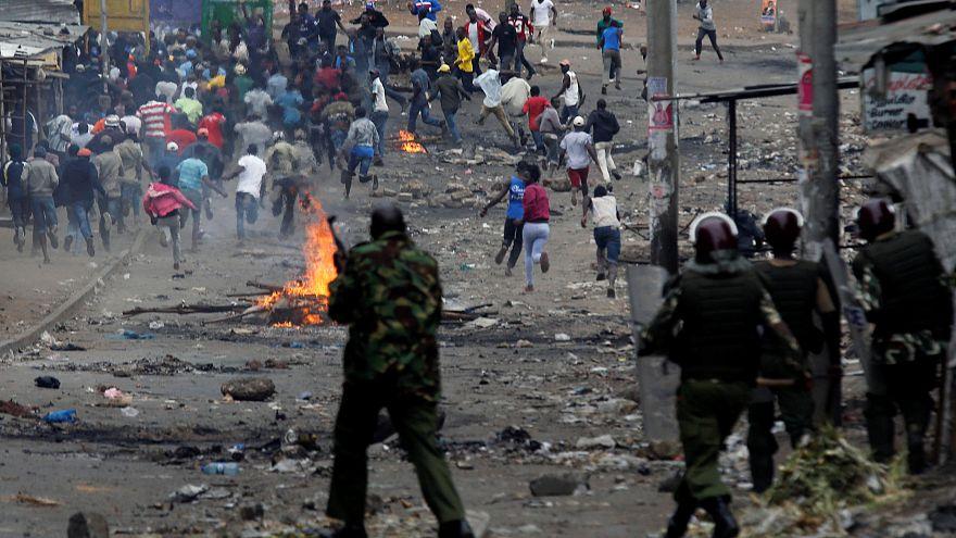 در عملیات پلیس برای مقابله با معترضان انتخابات کنیا یک دختربچه کشته شد