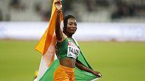 Mondiaux de Londres : l'ivoirienne Marie-José Talou remporte l'argent au 200 m