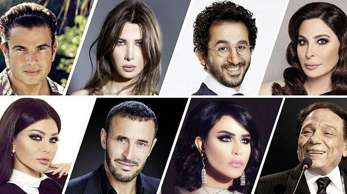 قائمة المشاهير العرب 100