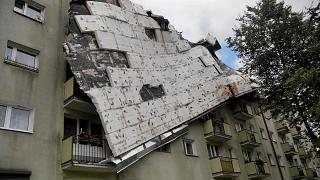 Un fuerte temporal deja 4 muertos y 36 heridos