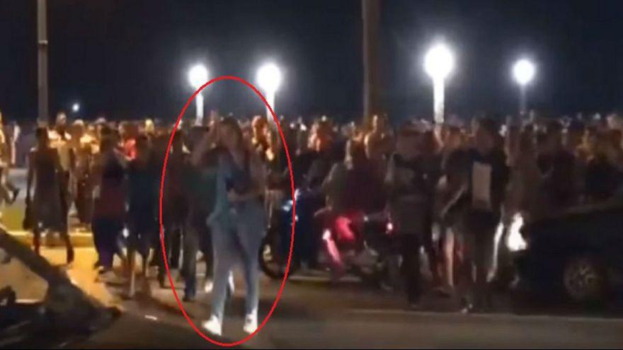 تحرش جماعي بفتاة في كورنيش طنجة