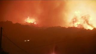 Wildfires force evacuations in northern Corsica