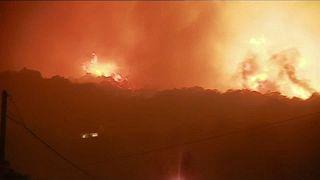 Cerca de 900 personas evacuadas en Córcega por un incendio