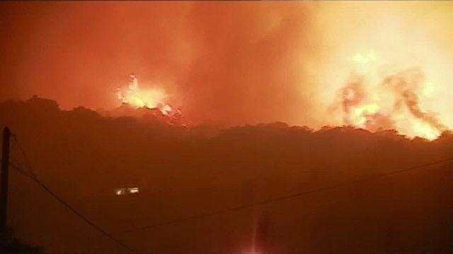 La Haute-Corse en proie aux incendies
