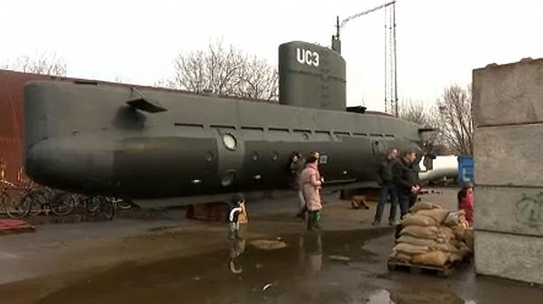 Dänischer U-Boot-Kapitän des Totschlags verdächtigt