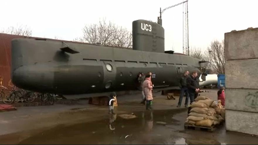Sospecha de homicidio tras la misteriosa desaparición de una periodista sueca en un submarino en aguas danesas