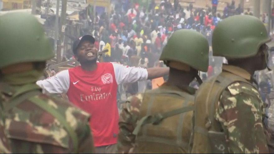Violent clashes in Nairobi