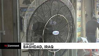 درجة الحرارة في بغداد تصل إلى 49ْ