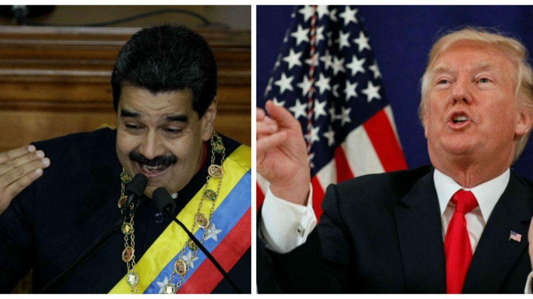 """فنزويلا ترفض تهديدات ترامب وتصفها ب""""الوقحة"""""""