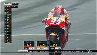"""Márquez logra en Austria su quinta """"pole"""" del año"""