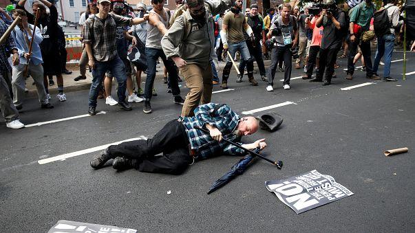یک نفر کشته و دست کم ۱۹ زخمی در تظاهرات راستگرایان افراطی در ویرجینیا