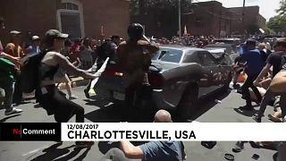 ABD'de ırkçı gösteri arbede ile noktalandı
