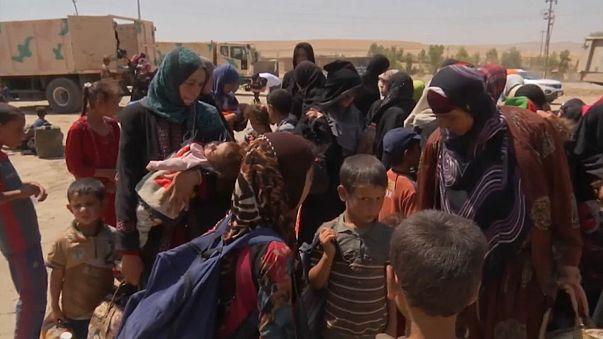 Les civils fuient Tal Afar