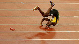 Drámai búcsú: Bolt megsérült Londonban