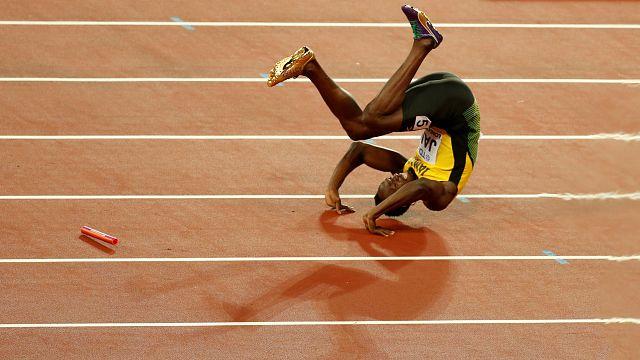 World Athletics: Bolt and Farah farewells end in failure