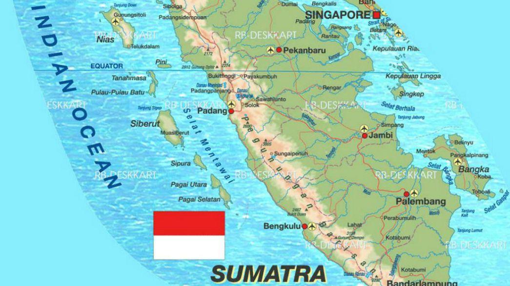 زلزال بقوة 6.4 درجات يضرب جزيرة سومطرة الاندونيسية