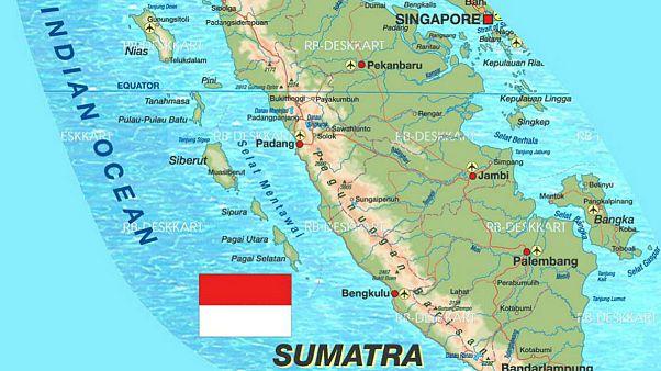 زمین لرزه شدید در جزیره سوماترای اندونزی