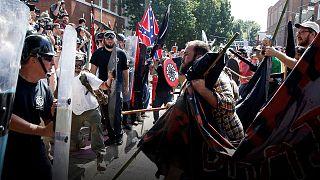 Trump condemnation of Virginia far-right violence 'not enough'