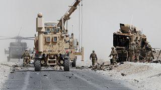 مسؤول عسكري أمريكي: مقتل قادة لداعش في ضربة جوية بأفغانستان