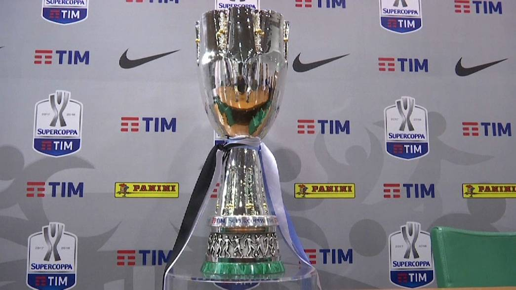 Juventus and Lazio prepare to face each other in the Italian Supercup.