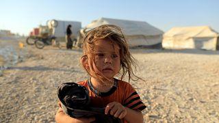 Flüchtlingsstrom aus al-Rakka