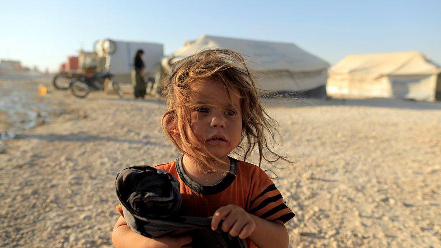 8.000 supervivientes de la batalla de Raqa acogidos en el campo de Ain Issa