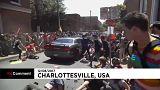 Un coche atropella a un grupo de personas en Charlottesville