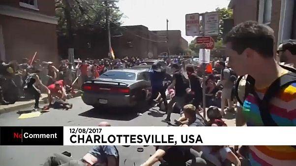 A tömegbe hajtott egy autós az Egyesült Államokban