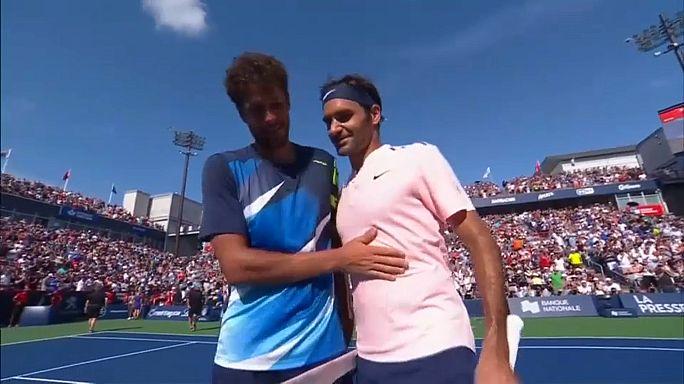 Federer a döntőben Montrealban