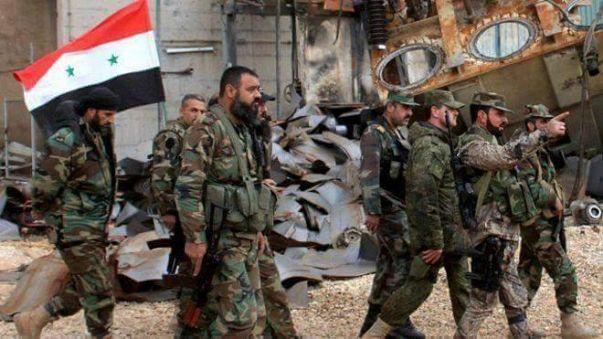 مقتل 25 جهاديا خلال إنزال جوي للجيش السوري في وسط البلاد