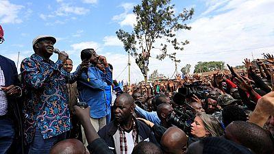 """Elections au Kenya : l'opposant Raila Odinga appelle à une """"ville morte"""" ce lundi"""