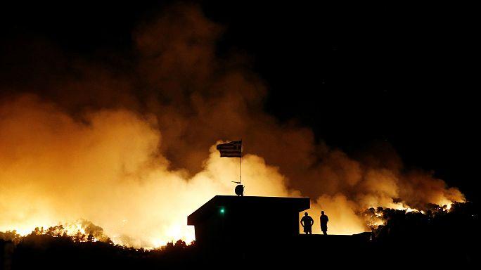 Το χρονικό των καταστροφικών πυρκαγιών