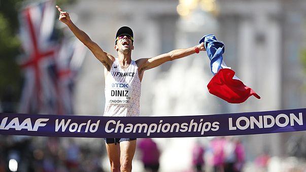 Diniz champion du monde pour la première fois