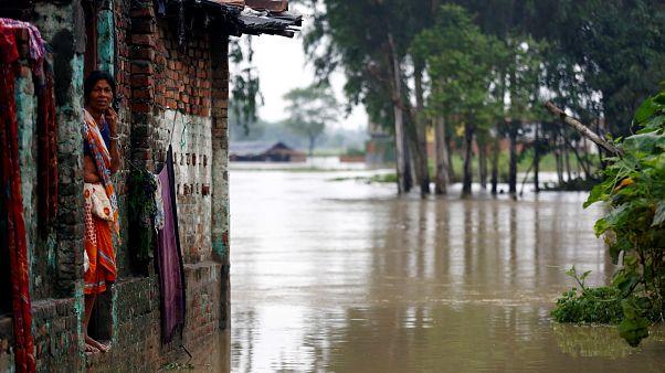 Наводнение в Непале