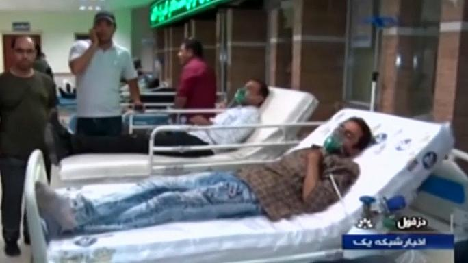 Over 400 taken to hospital after a chlorine gas leakage in Iran