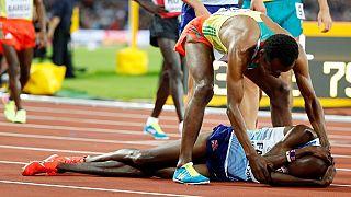 Ethiopia's Edris devastates Mo Farah in 5000m race