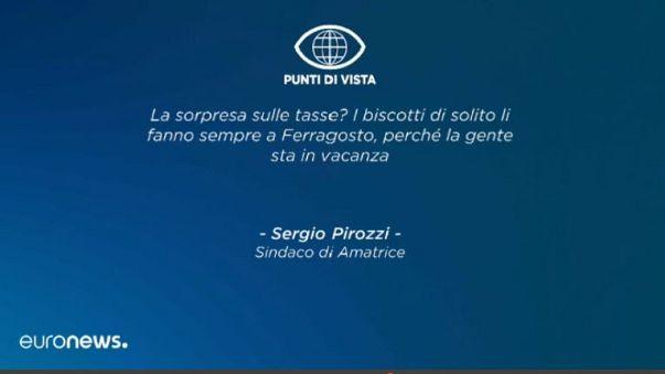 Sergio Pirozzi sulle tasse ai terremotati